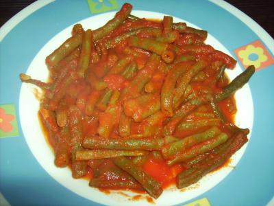 Bajocas con tomate