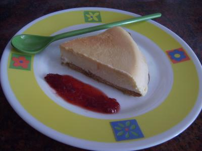 Tarta de queso rápida