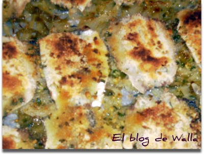 Sardinas asadas con provenzal