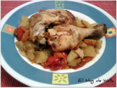 Pollo con patatas (chefo)