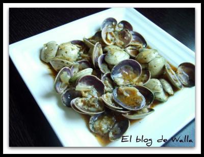 Almejas a la marinera (receta gallega)